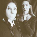 Грим за Хелоуин: Мортиша и Уенсди от Семейство Адамс